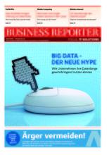 Business Reporter - Wolke mit Schönheitsfehlern - April 2013 - Titel